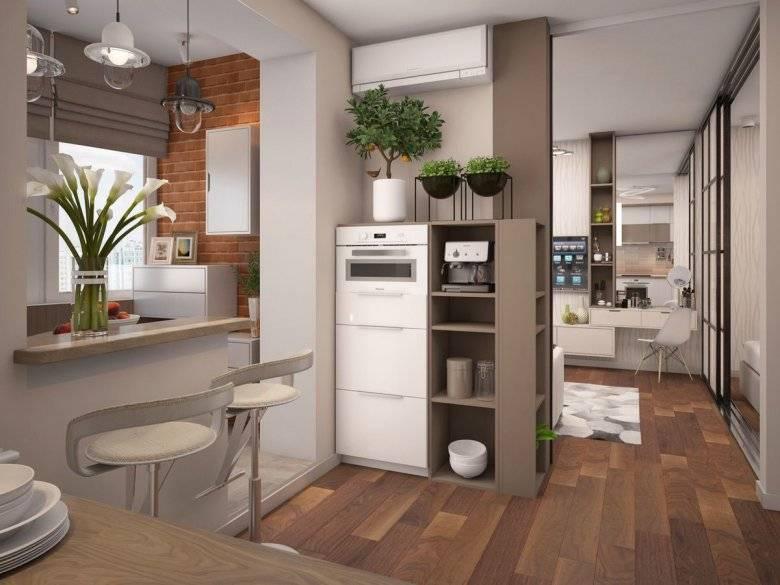 Кухня прихожая — 77 фото идей идеально совмещенного интерьера