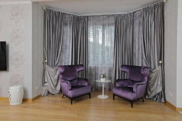 Шторы в гостиную — правильный выбор занавесок. 119 фото идеального сочетания стиля и цвета!