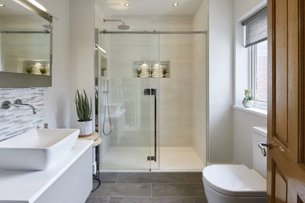 Ванная комната с душевой кабиной: фото примеры, полезные советы