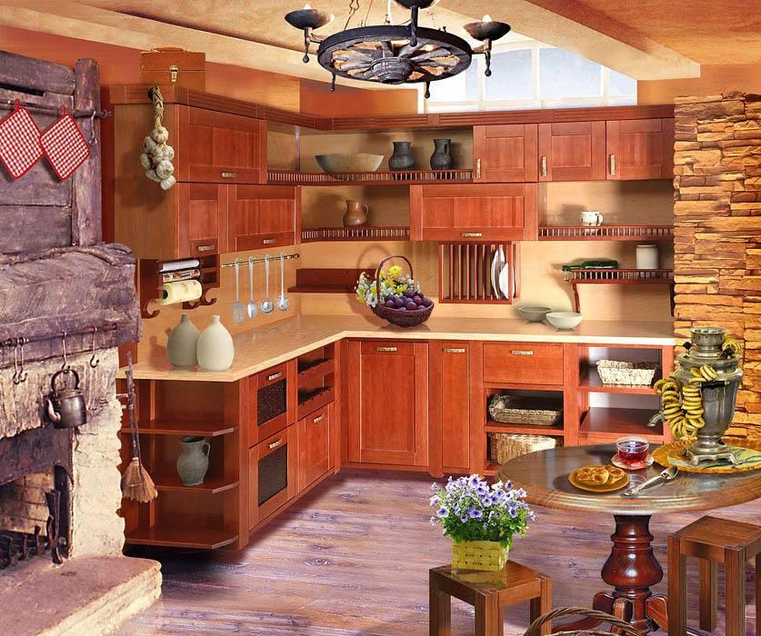 110 красивых примеров дизайна кухни на даче