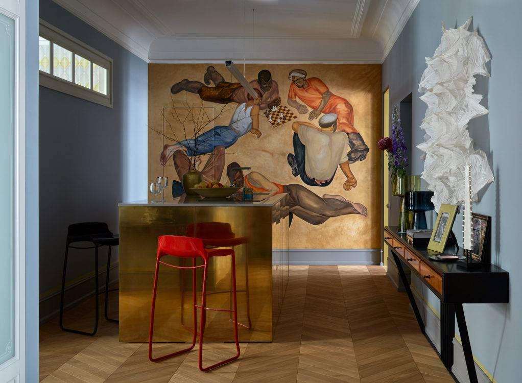 Рисунки на стенах в квартире: техники росписи и интересные идеи
