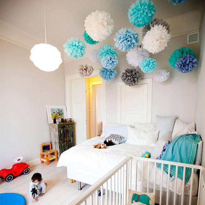 75 оригинальных идей украшения детской комнаты с фото