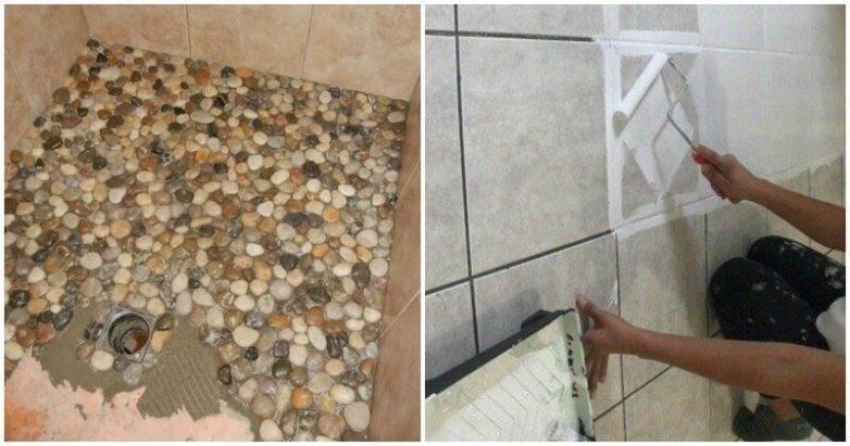 Ванная без плитки: идеи отделки и варианты оформления комнаты (50 фото)   дизайн и интерьер ванной комнаты