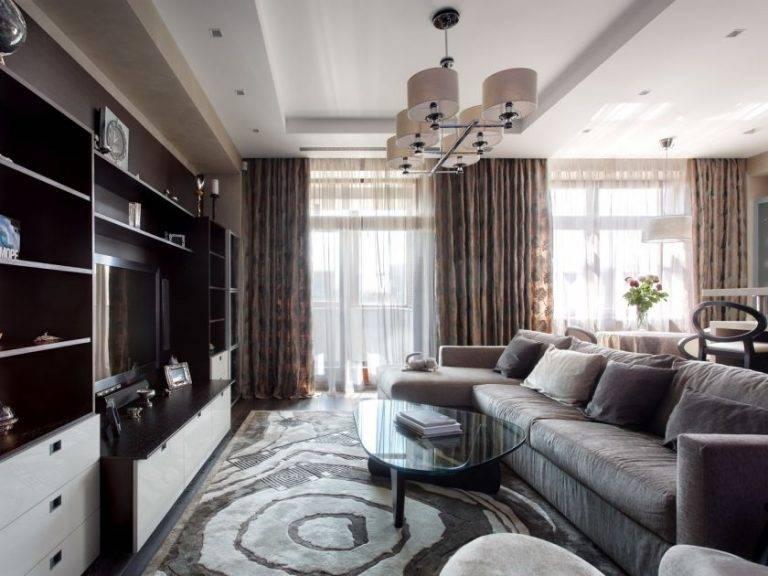 Как оформить гостиную (в частном доме и квартире): простые советы и идеи по выбору стилевых сочетаний интерьера