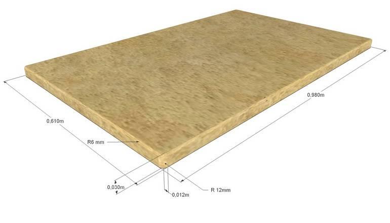 Стандартная высота кухонной столешницы от пола
