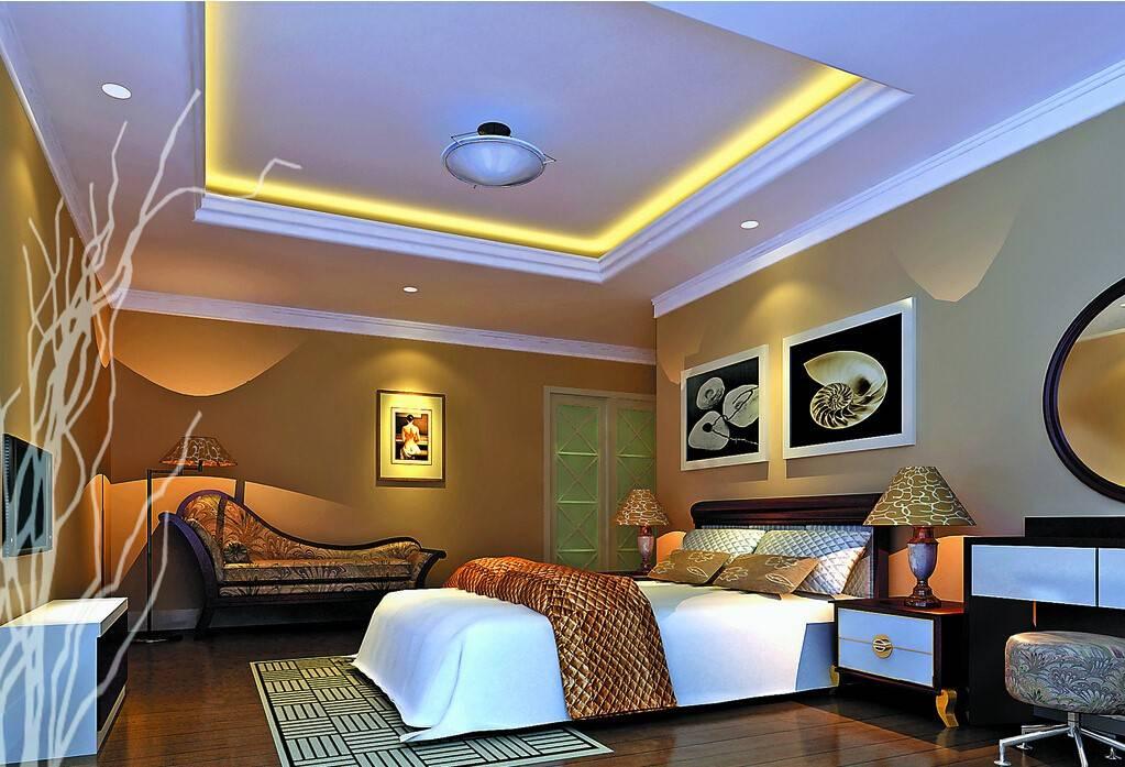 Как сделать самому красивый двухуровневый потолок из гипсокартона с подсветкой. фото и видео