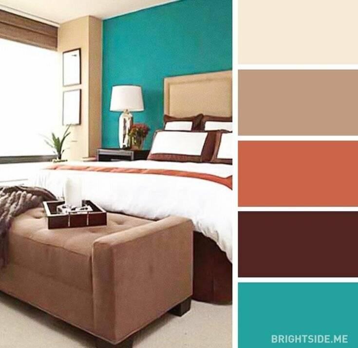 Коричневый цвет в интерьере: 260+ (фото) сочетания цветов