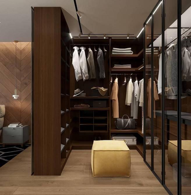 Мечта каждого — гардеробная комната в спальне: как оформить правильно и вместить даже в малогабаритку
