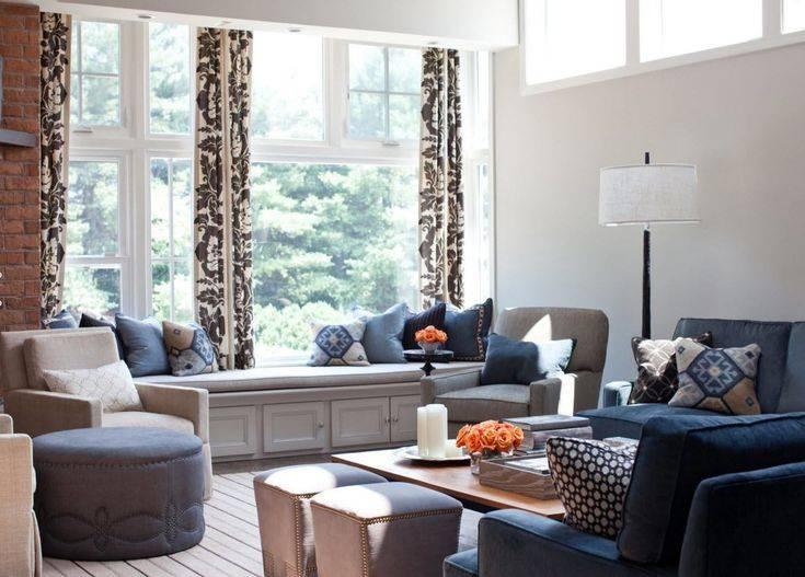 Шторы в стиле лофт: правила дизайна помещения в стиле лофт, палитра цветов, типы тканей и конструкций для штор в стиле лофт (фото + видео)