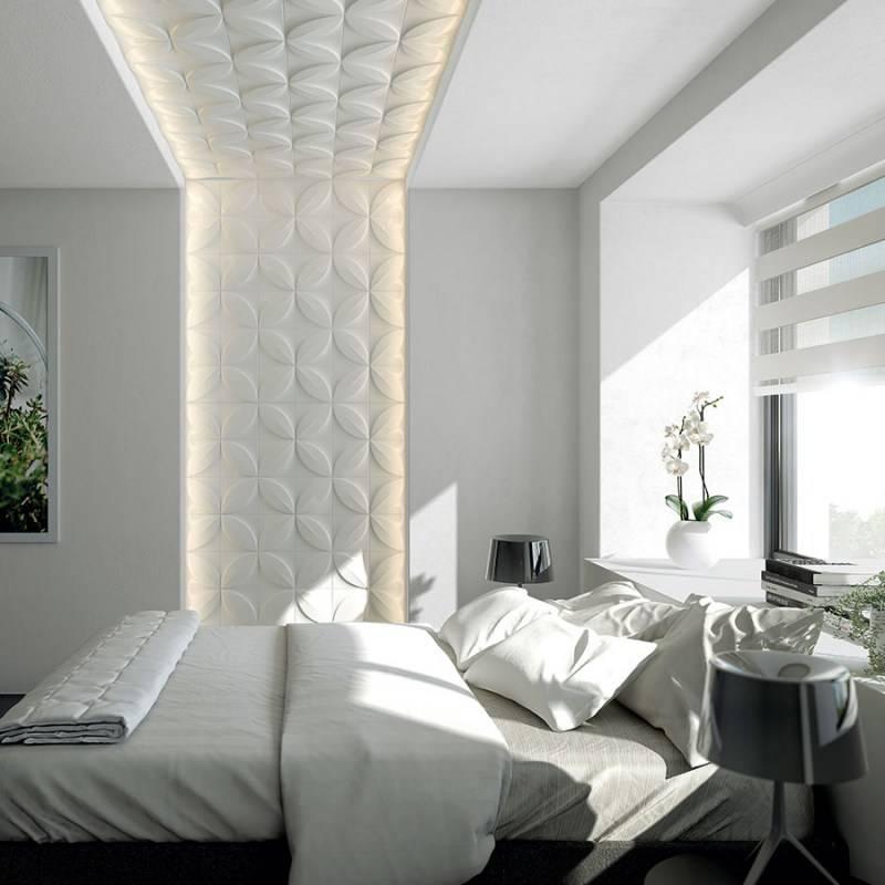 3д панели в интерьере: 40 стильных дизайнерских идей