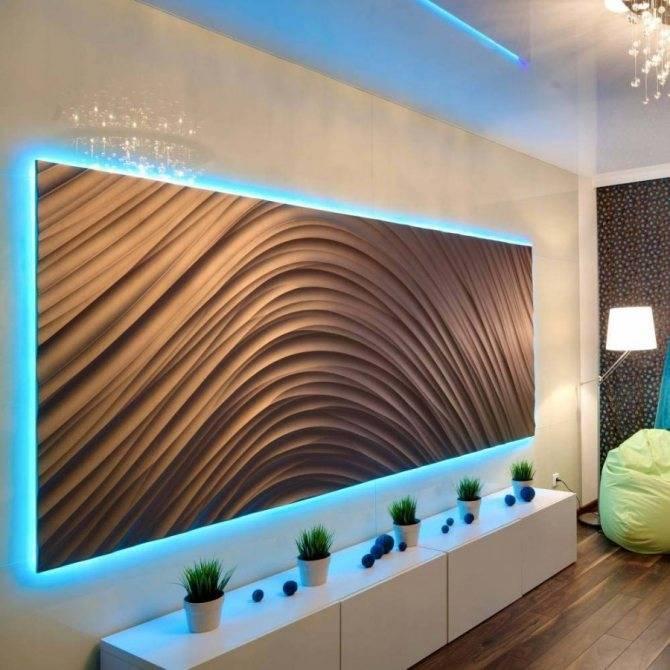 Стены в гостиной: 15 идей для отделки стен в гостиной (50 фото) | дизайн и интерьер