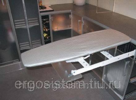 Гладильный шкаф (35 фото): механизм с выдвижной или складной доской, настенные модели с зеркалом