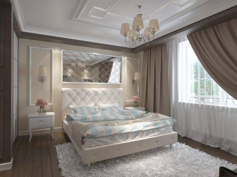 Дизайн спальни 12 кв. м: важные советы, как превратить помещение в комнату мечты