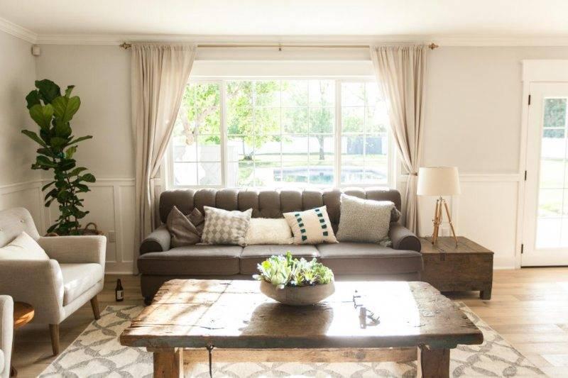 Расстановка мебели в гостиной согласно размеру и форме комнаты