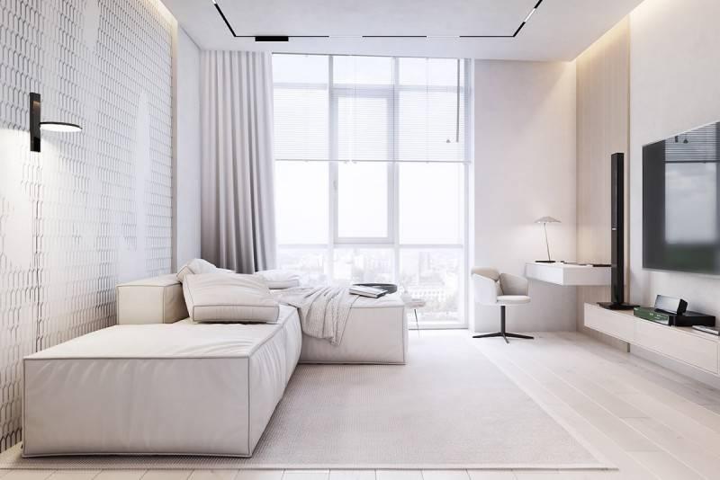 Белый цвет в интерьере (108 фото): мебель и стены под кирпич в белых тонах в интерьере комнаты. дизайн интерьера с деревом и камнем