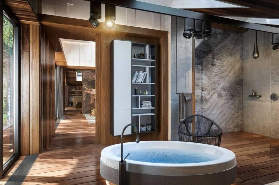 Ванная с окном: правила и реальные фотографии удачных интерьерных решений (65 фото) | дизайн и интерьер ванной комнаты