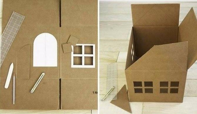 Изготовление макета дома из бумаги. как сделать из бумаги домик: объемный, круглый, оригами, из скрученной бумаги — полезные советы, инструкция, фото. домик из картона — мастер класс с подробным описанием вариантов декорирования