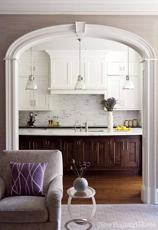Арка на кухню — стильные идеи применения и актуальные варианты дизайна свойственного для кухни (120 фото)