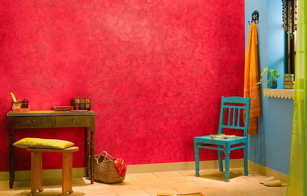 Приемы декоративной покраски стен