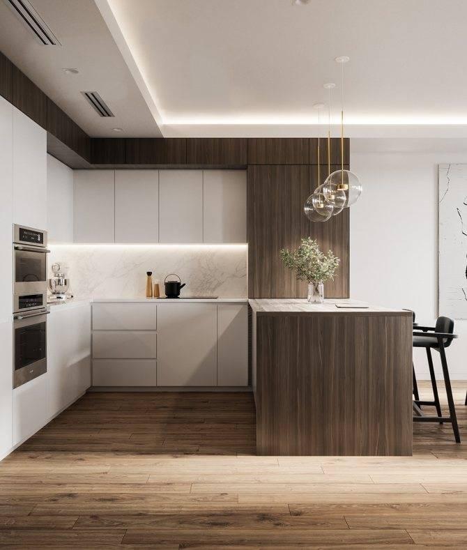 Дизайн кухни 2021: современные идеи и тренды (70 фото)