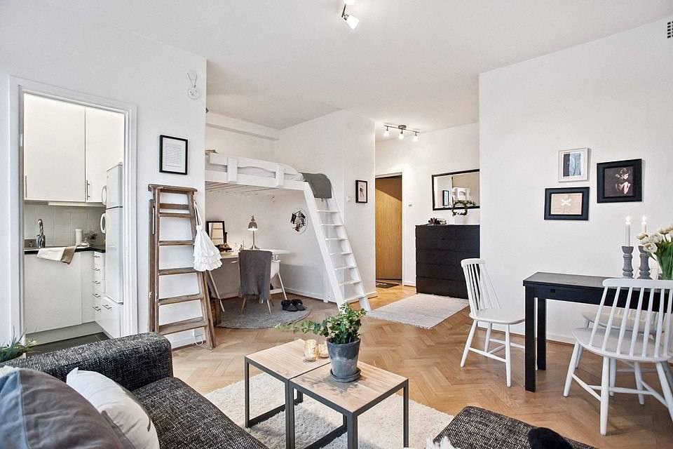 Идеи и варианты красивого оформления дизайна квартиры-студии интерьер и дизайн