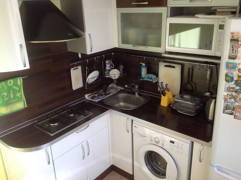 Кухня 6 кв метров в хрущевке — 2021: дизайн интерьера, с холодильником, газовой колонкой, особенности планировки, полезные советы