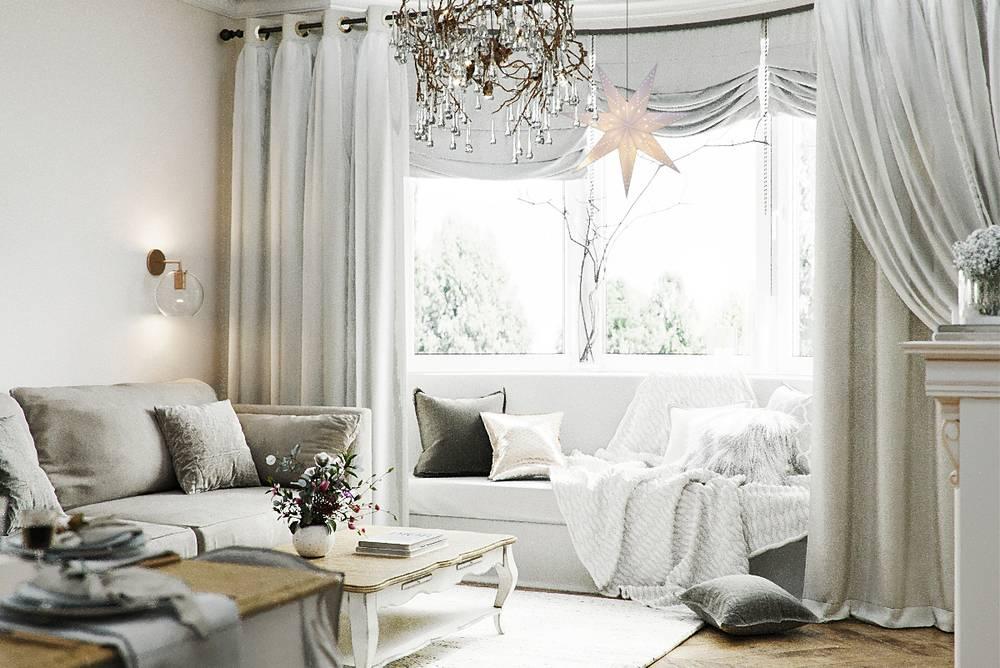 Оформление штор - топ-130 фото оригинальных идей оформления своими руками. подбор цветов и стилей штор