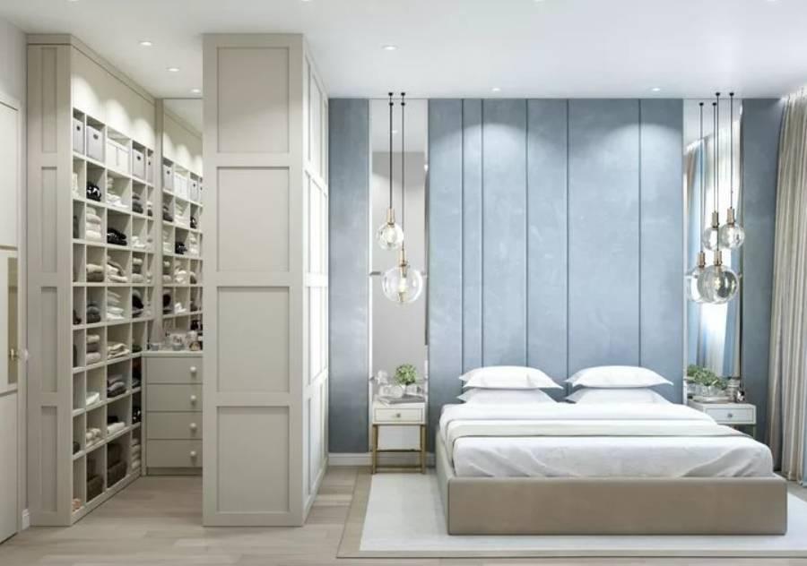 Санузел в спальне - 100 фото красивого дизайна спальни с санузлом