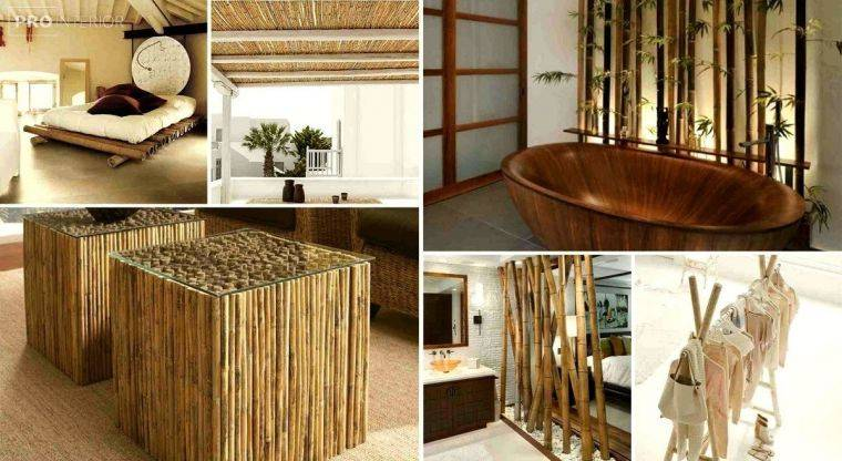 Бамбук в интерьере дома или квартиры (20 фото)