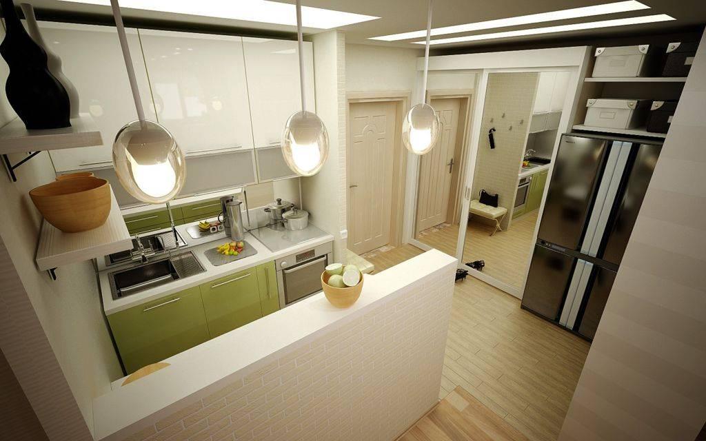 Кухня-прихожая: идеи дизайна кухни, совмещенной с прихожей