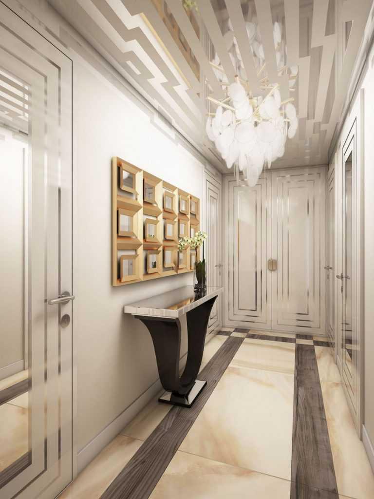 Обои. расширяющие пространство, в узкий коридор (49 фото): какие обои выбрать для длинной и темной прихожей в квартире? какой цвет лучше?