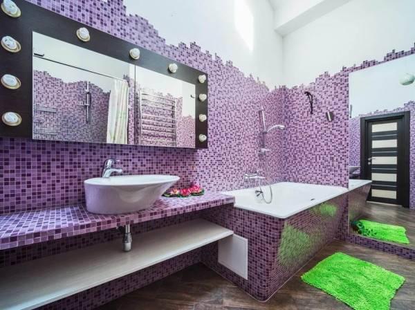 Плитка мозаика в интерьере, 50 фото, которые вас вдохновят