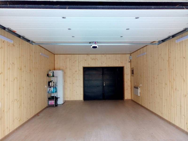 Отделка гаража от а до я: базовые сведения и нюансы