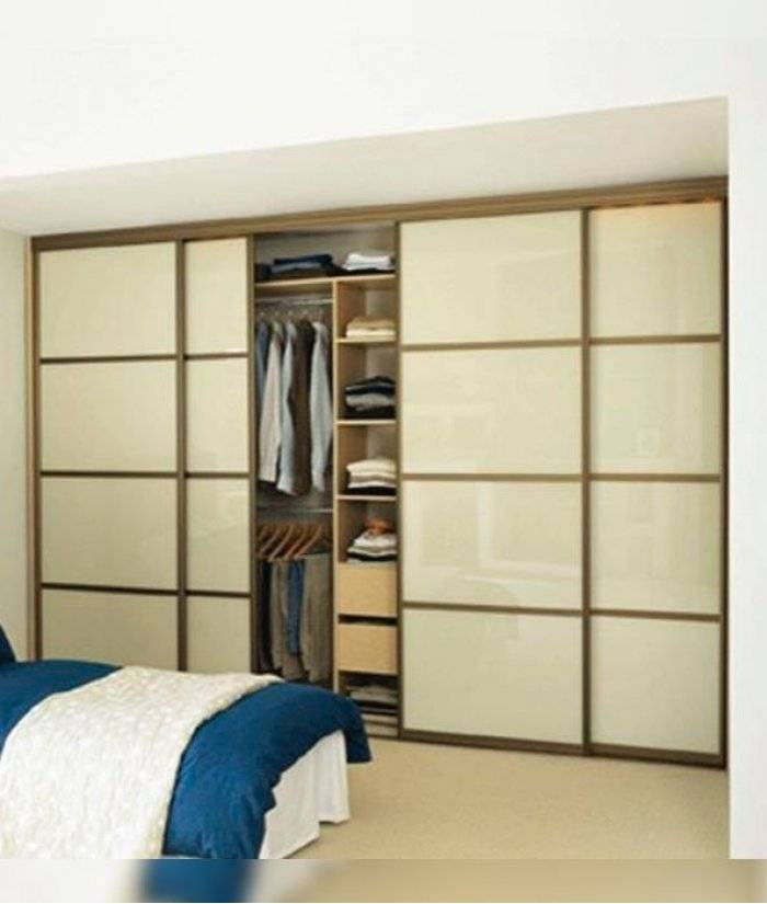 Планировка шкафа купе внутри с размерами, правила и полезные идеи для продуманного наполнения, приемы обустройства - 19 фото