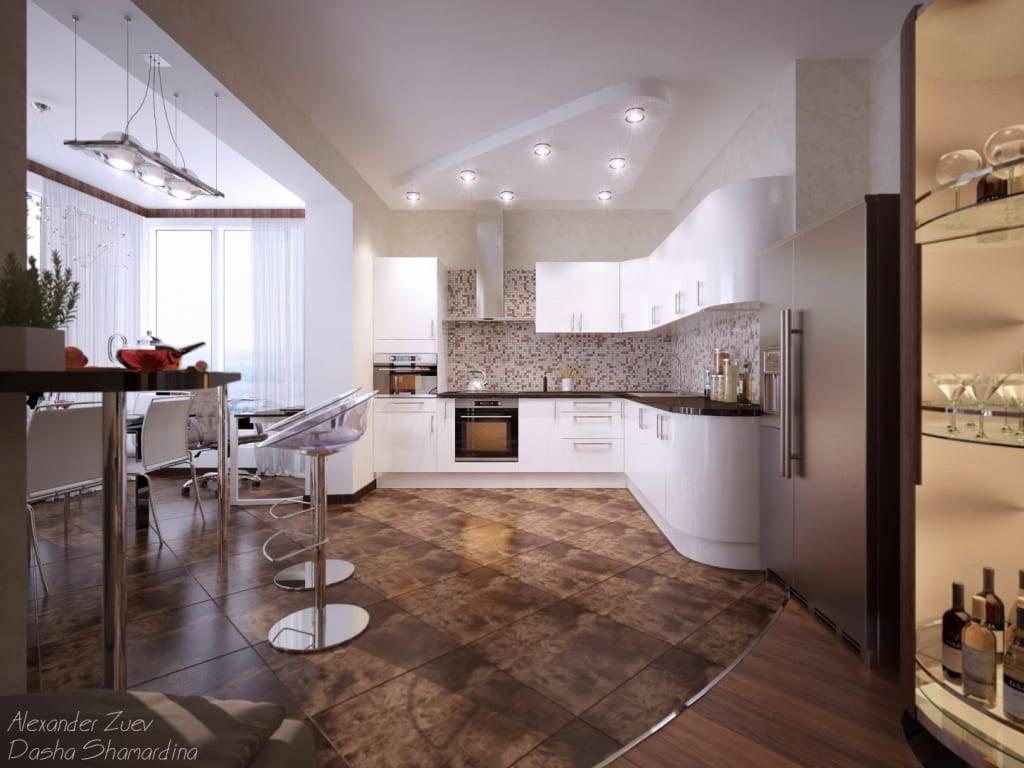 Кухня, совмещенная с прихожей: 60 лучших примеров дизайна в фото