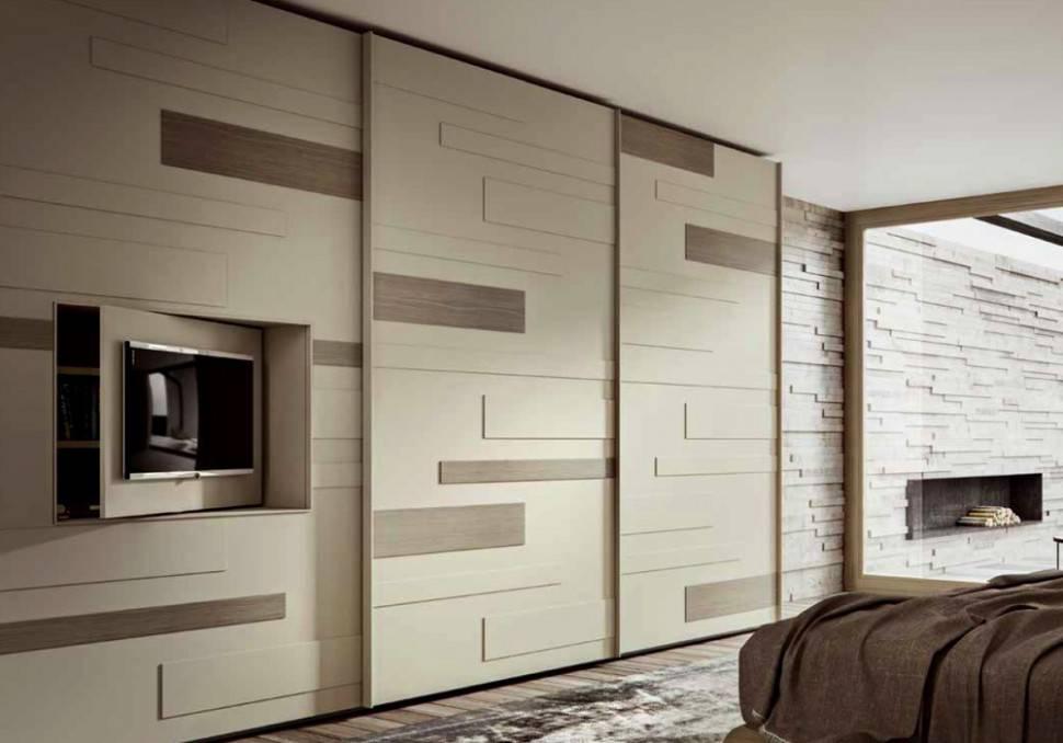 Шкафы-купе: дизайн фасадов +50 фото примеров