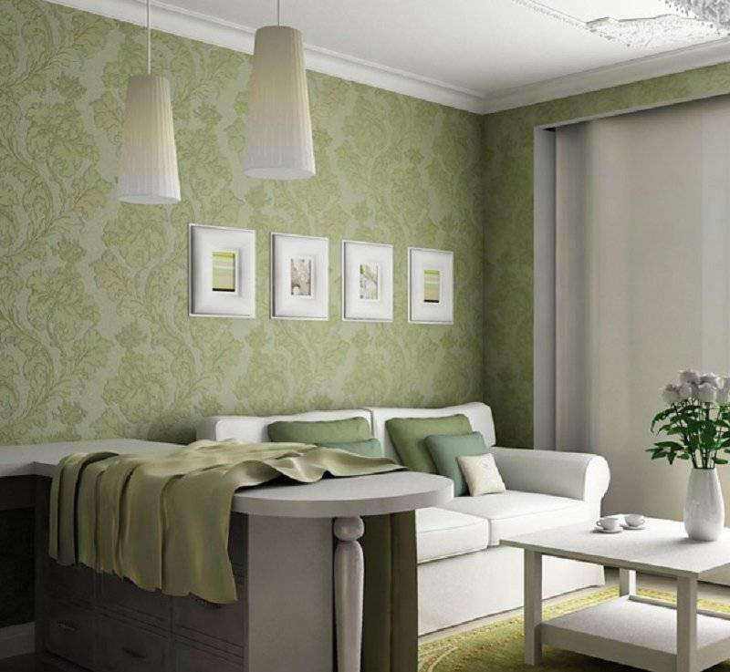Обои в зал - красивые варианты применения в дизайне интерьера. лучшие решения и советы профессионалов (165 фото)