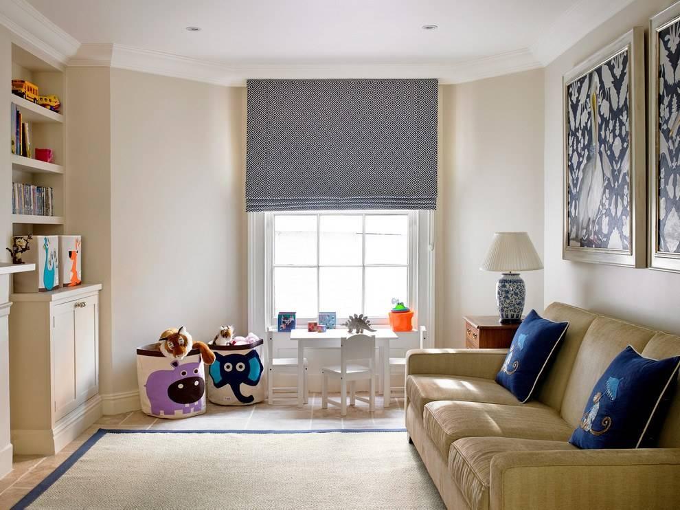 Римские шторы: современные идеи оформления окна + фото в интерьере