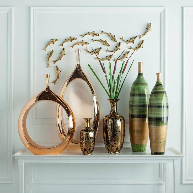 Элементы декора — идеи красивого оформления сильного интерьера своими руками (145 фото)