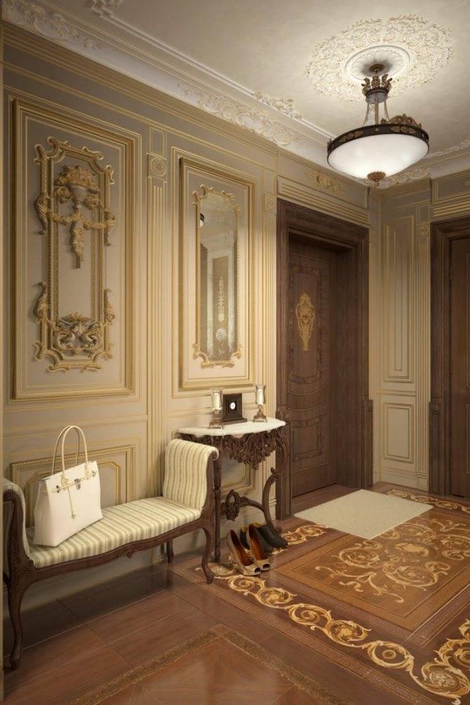 Как оформить коридор и прихожую в стиле прованс?