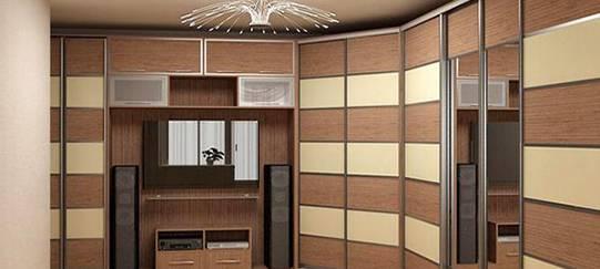 Современные шкафы-купе: фото, дизайн, выбор конструкции и правильное применение