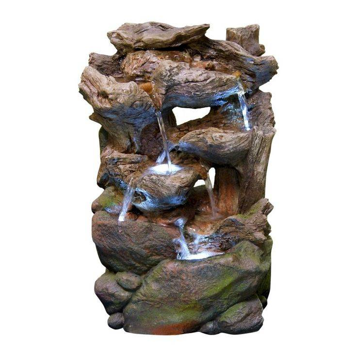Искусственный водопад — оригинальные идеи в ландшафтном дизайне