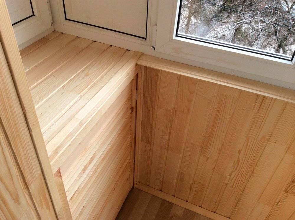 ???? внутренняя обшивка балкона вагонкой: пошаговая инструкция