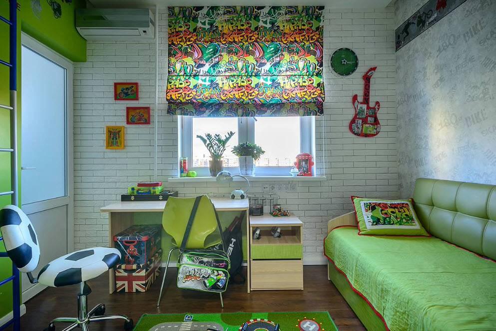 Советы по выбору дизайна римских штор для детской комнаты
