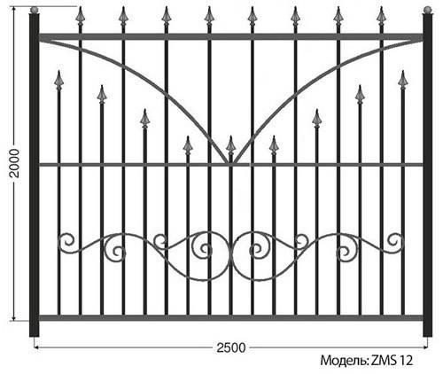 Как сделать забор из профильной трубы – последовательная инструкция