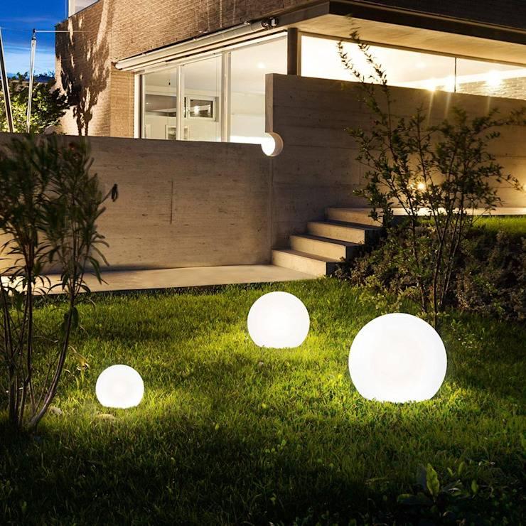 Как устроить наружное освещение частного дома