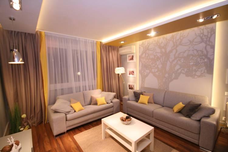 Гостиная с балконом: стильные примеры совмещения и объединения двух комнат, 180 фото интерьеров