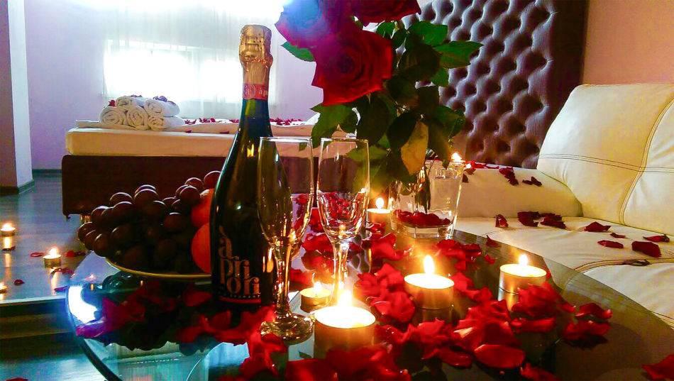 Романтический вечер для двоих на день святого валентина