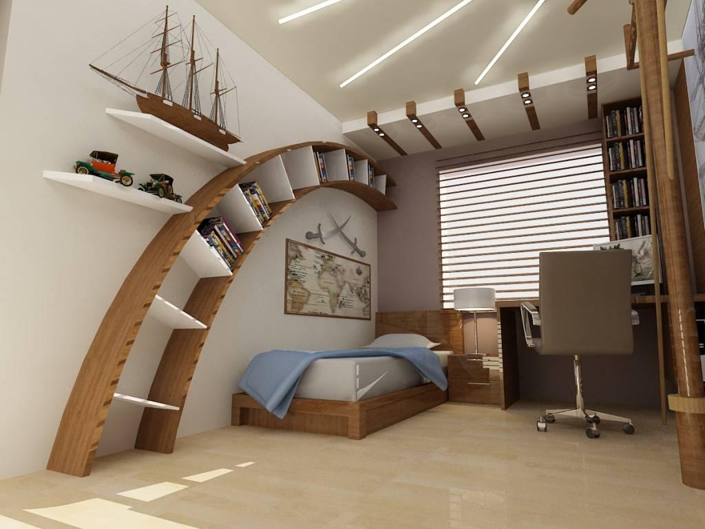 Дизайн комнаты для подростка мальчика (47 фото): лучшие интерьеры 2019 | «покажу»