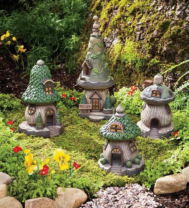 Садовые фигурки своими руками: идеи, фото, инструменты, схемы, мастер-классы